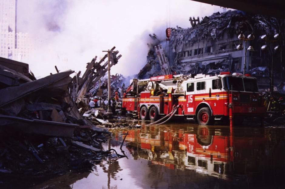 Ground Zero, NYC, 9/11