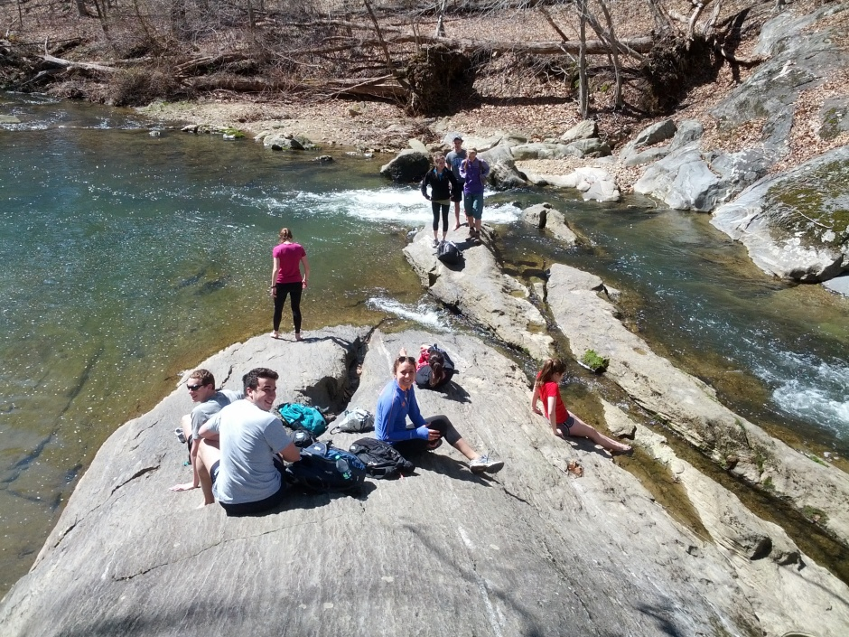 Environmental Ethics class field trip, Gunpowder Falls State Park